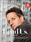 Tim Geithner on last cover of Portfolio, Conde Nast