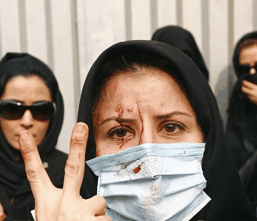 Iranians fight for free speech